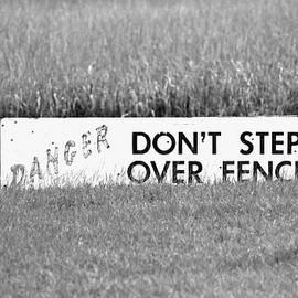 Cynthia Guinn - Marsh Danger Sign