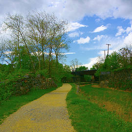 Maryland Appalachian Trail After Leaving Harpers Ferry by Raymond Salani III