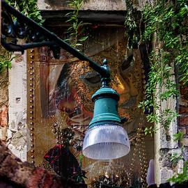 Masked Venetian Door by Wolfgang Stocker