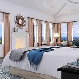 Master Bedroom Design Bristol by Yantram Studio