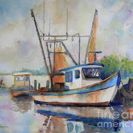 Matagorda Boats III by Marsha Reeves