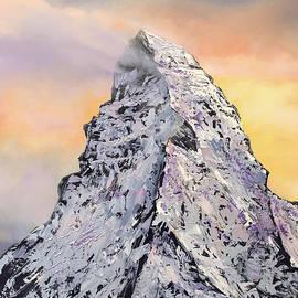 Matterhorn. Sunset by Nino Ponditerra