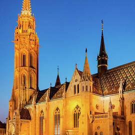 Bob Phillips - Matthias Church at Dusk