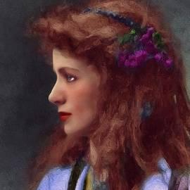 John Springfield - Maude Adams, Vintage Actress