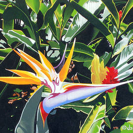 Maui Garden by Joe Roselle