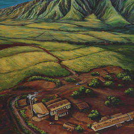 Maui Sugar Mill by Darice Machel McGuire
