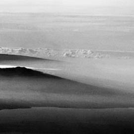 Mauna Loa and Hualalai in the Fog and Clouds by Heidi Fickinger