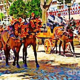 May Day Fair in Sevilla, Spain by Tatiana Travelways