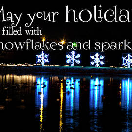 Toni Hopper - May Your Holidays be filled with Snowflakes and Sparkles