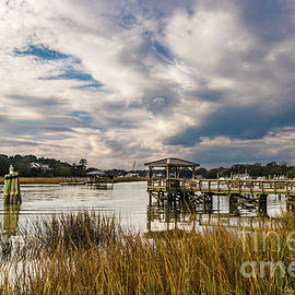 McClellanville Intracoastal Charming Landscape by Norma Brandsberg
