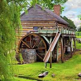 McCormicks Mill Raphine Virginia by George Moore