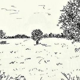 Meadow Near Woerlitz by Chani Demuijlder