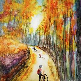 Meandering Bike Ride by Patty Donoghue