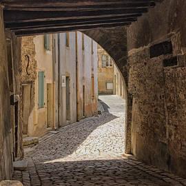 Medieval alley by Patricia Hofmeester