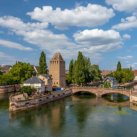 W Chris Fooshee - Medieval Bridge in Strasbourg