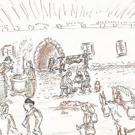 Medieval Scene by Gabriel Coelho