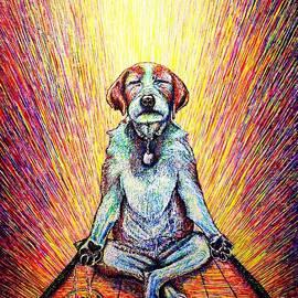 Meditation by Viktor Lazarev