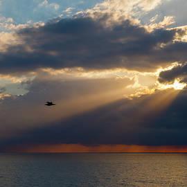 Guido Montanes Castillo - Mediterranean sunrise after the storm