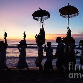 Timea Mazug - Melasti Festival Ceremony Bali