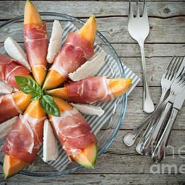 Melon Prosciutto Mozzarella by Corina Daniela Obertas