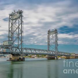 Memorial Bridge over the Piscataqua River by Jerry Fornarotto