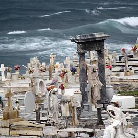 Memorials washed away by Deborah Napelitano