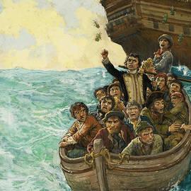 Men in a Boat - Kenneth John Petts
