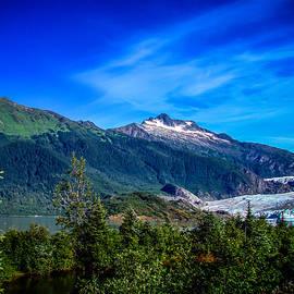Mendenhall Glacier Alaska by Scott McGuire