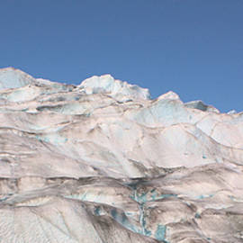 Mendenhall Glacier Panoramic by Kristin Elmquist