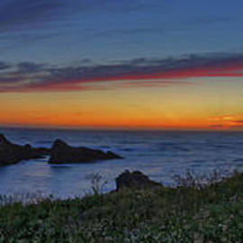 Along The Trail - Mendocino Headlands Sunset