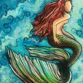 Mermaid in Blue by Carol Meza