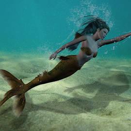 Solomon Barroa - Mermaid Underwater