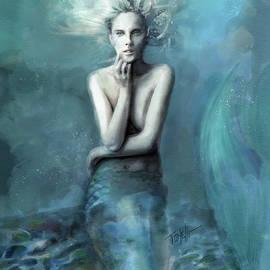 Aqua Mermaid water spirit by Mark Tonelli