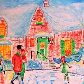 Merry Christmas and Happy Holidays by Stanley Morganstein