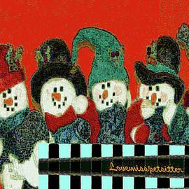 Miss Pet Sitter - Merry Christmas Art 45