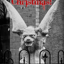 Brenda Conrad - Merry Christmas Gargoyle 1