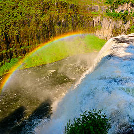 Mesa Falls Rainbow