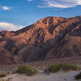 Mesquite Dunes and Panamint Range Death Valley by Steve Gadomski