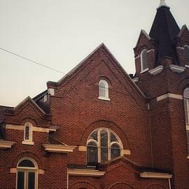 4004 - Methodist Church In Brown City by Sheryl L Sutter