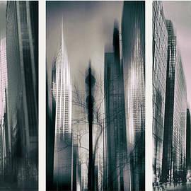 Metropolis Triptych II by Jessica Jenney