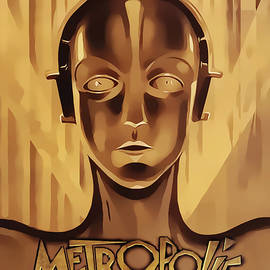 Metropolis - Vertical by Chuck Staley
