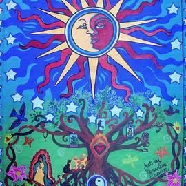Mexican Retablos Prayer Board by Genevieve Esson