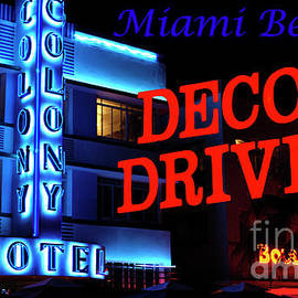 Bob Christopher - Miami Beach Art Deco Drive