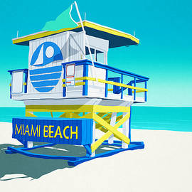 Steve Ash - Miami Beach Hut