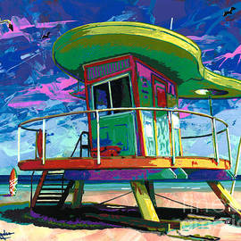 Maria Arango - Miami Beach Lifeguard Tower