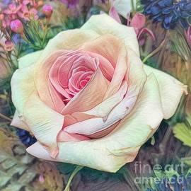 Mia's Rose by Luther Fine Art