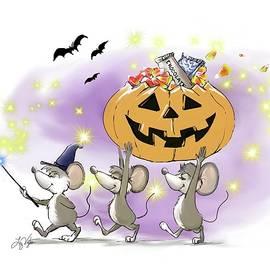 Mic, Mac, and Moe's Happy Halloween by Liz Viztes