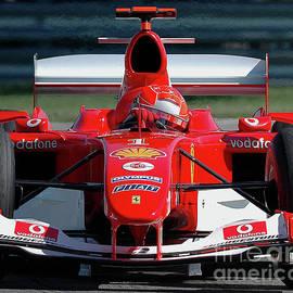Michael Schumacher, Ferrari F2004 by James Hervat