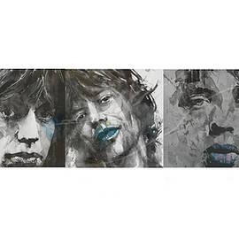 Paul Lovering - Mick Jagger Triptych