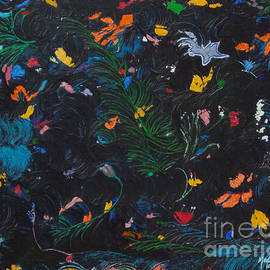 A Mid Summer Night Floral Dance by Rick Maxwell